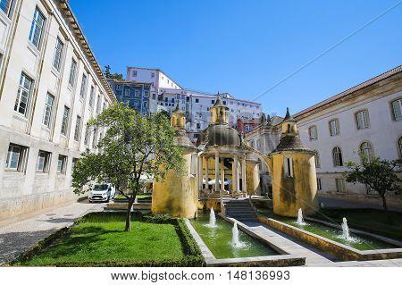 Jardim Da Manga In Coimbra, Portugal