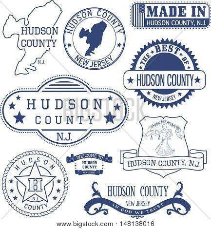 Hudson County, Nj, Generic Stamps And Signs