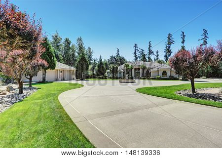 Custom Built Luxury House With Perfect Landscape Design.