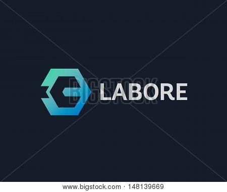Repair service tool shop sign logotype. Creative idea wrench icon creative mechanic symbol logo icon. Negative space symbol