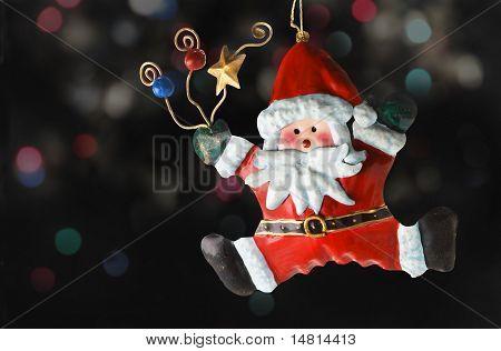 Tin Santa Claus