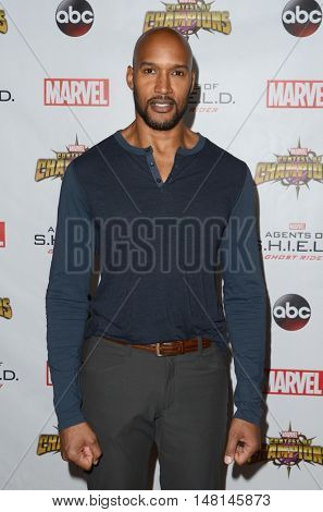 LOS ANGELES - SEP 19:  Henry Simmons at the