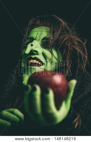 Evil Witch Laughing