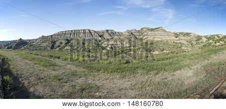 Theodore Roosevelt National Park Panoramic