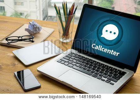Callcenter Helpdesk Support  Information Support And Callcenter