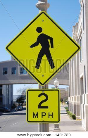 2 Mph Walking Speed Limit Copy