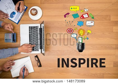 Inspire ( Inspire Ideas Creativity Inspiration )