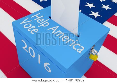 Help America Vote Concept