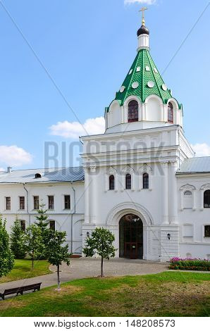 Holy Trinity Ipatyevsky Monastery Gate Church of Chrysanth and Daria (XIX century) Kostroma Russia