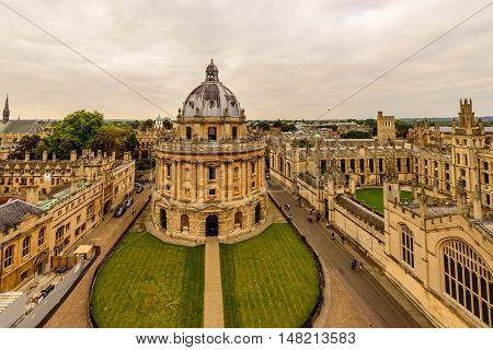 Oxford Radcliffe Camera, Oxford Univerversity Library, UK