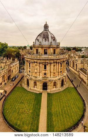 Oxford, Radcliffe camera, Oxford University, England, UK
