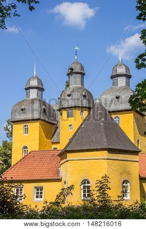 Towers Of The Castle Schloss Holte-stukenbrock