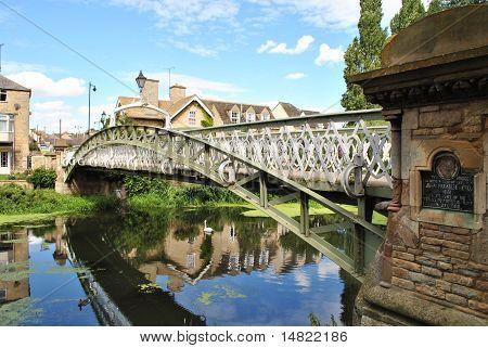 Britain Bridge and river