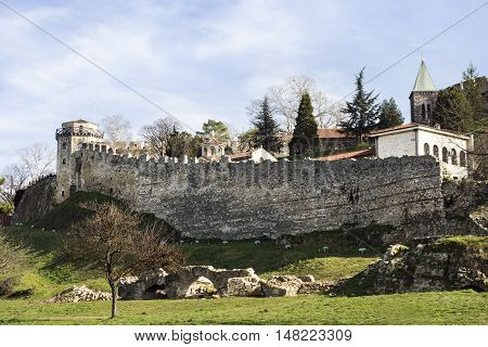 Fortress of Kalemegdan in Belgrade City Serbia