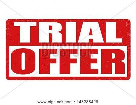 Trial Offer Stamp