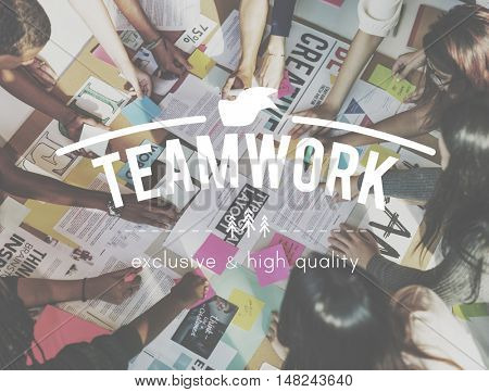 Teamwork Collaboration Togetherness Association Concept