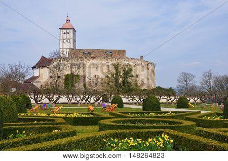 Schallaburg castle in Danube Valley in Austria
