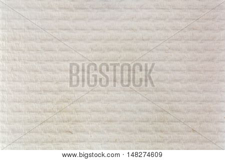 Closeup texture of multi purpose tissue paper towel, kitchen paper with fiber