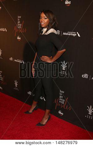 LOS ANGELES - SEP 20:  Aja Naomi King at the