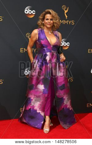 LOS ANGELES - SEP 18:  Alexandra Billings at the 2016 Primetime Emmy Awards - Arrivals at the Microsoft Theater on September 18, 2016 in Los Angeles, CA