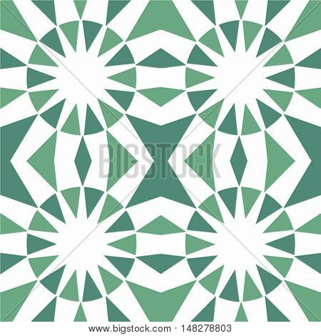 Abstract seamless  color pattern - vector illustration