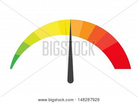 Concept of Colorful Banner with Arrows for Different Business Design. Vector Illustration EPS10