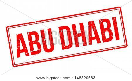 Abu Dhabi Rubber Stamp