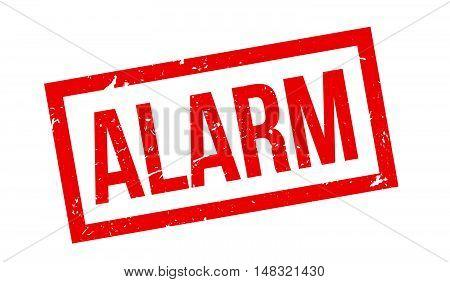 Alarm Rubber Stamp