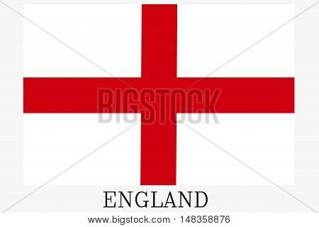 England flag ,Original and simple Republic of The England flag