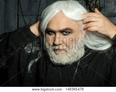Man In White Wig
