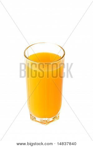 Glass with multifruit juice