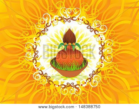 abstract artistic detailed navratra background vector illustration