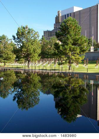 Across The Reflecting Pool