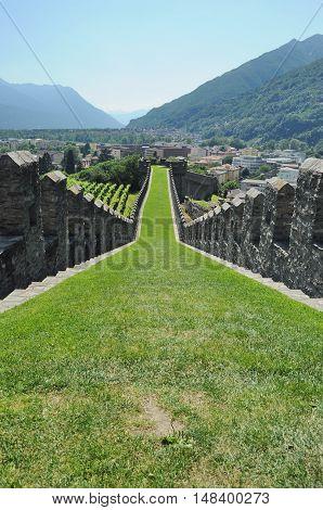 Castle Of Bellinzona, Switzerland