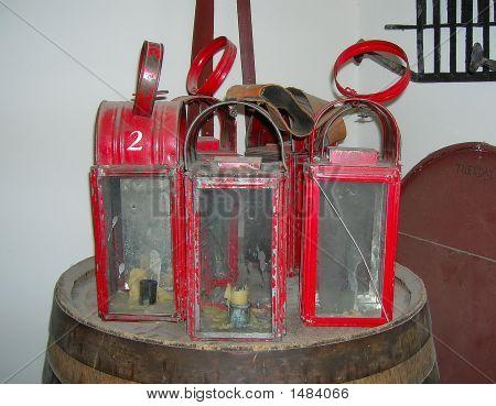 Old Red Lanterns
