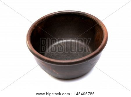 earthenware dish  houseware on a white background