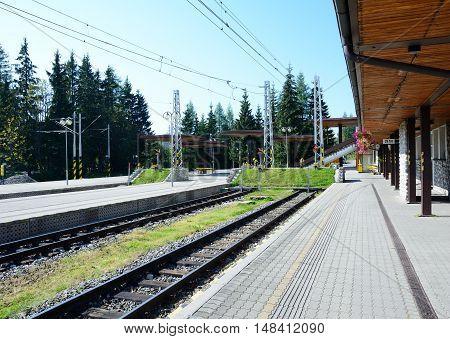 Strbske Pleso Railway Station