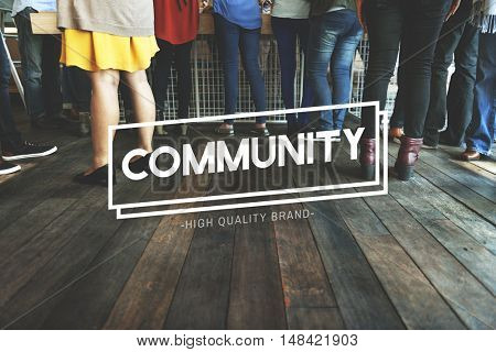 Community Belonging Citizen Unity Diversity Concept
