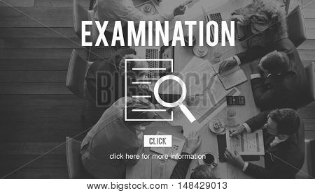 Examination Research Investigation Discovery Concept