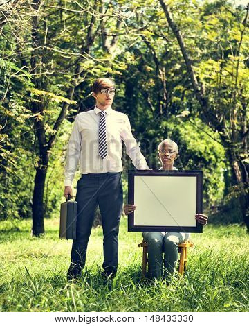 Briefcase Business Cooperation Corporate Vision Concept