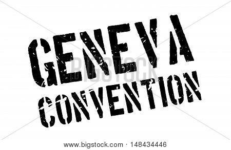 Geneva Convention Rubber Stamp