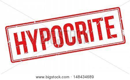 Hypocrite Rubber Stamp