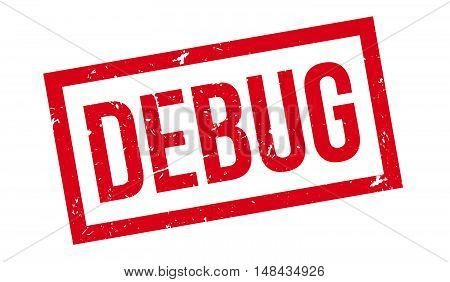 Debug Rubber Stamp