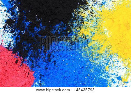 Cmyk Toner Powder (cyan, Magenta, Yellow, Black)