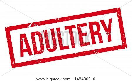 Adultery Rubber Stamp