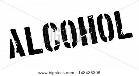 Alcohol Rubber Stamp