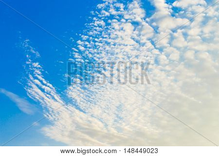 sky blue background detail beautiful view wall