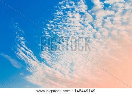 Sky and cloud detail nature background art
