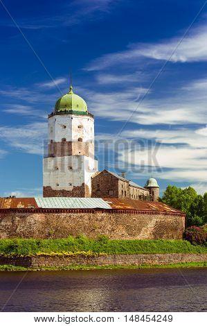Vyborg Castle, Saint-petersburg, Russia