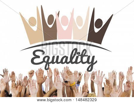 Equality Fairness Fundamental Rights Racist Discrimination Concept